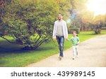 family  parenthood  fatherhood  ... | Shutterstock . vector #439989145
