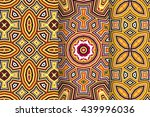 set of 3 abstract patterns.... | Shutterstock .eps vector #439996036