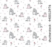 vector seamless pattern with... | Shutterstock .eps vector #440013976