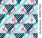 vector contemporary geometric... | Shutterstock .eps vector #440017042