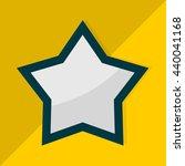 star icon. flat design. vector...