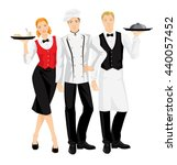 group of professional people....   Shutterstock .eps vector #440057452