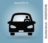 driver vector icon | Shutterstock .eps vector #440092048