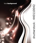 abstract shiny vector... | Shutterstock .eps vector #440110042