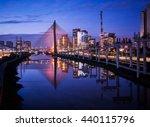 sao paulo skyline   brazil      ... | Shutterstock . vector #440115796