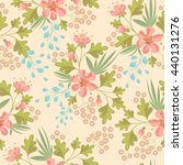 seamless ditsy. floral pattern. ... | Shutterstock .eps vector #440131276