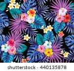 tropical seamless pattern with...   Shutterstock .eps vector #440135878
