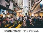 causeway bay  hong kong   june... | Shutterstock . vector #440143966