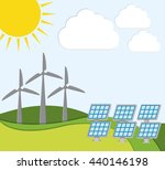 green energy innovation | Shutterstock .eps vector #440146198