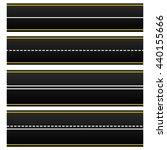 set of 4 road  highway  roadway ...   Shutterstock .eps vector #440155666