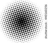 halftone effect  halftone... | Shutterstock . vector #440160256