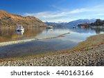 Lake Wanaka And Boats With The...