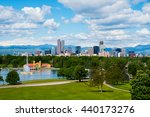 denver colorado downtown with... | Shutterstock . vector #440173276