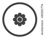 daisy icon | Shutterstock .eps vector #440201776