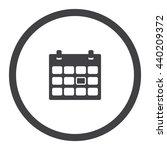 calendar icon | Shutterstock .eps vector #440209372