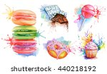Watercolor Confectionery Set ...