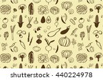 vegetables graphic vector line... | Shutterstock .eps vector #440224978