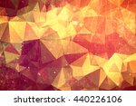 abstract red sun background  ... | Shutterstock . vector #440226106