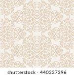 wallpaper in baroque style.... | Shutterstock .eps vector #440227396