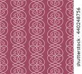 linear seamless pattern.... | Shutterstock . vector #440248756