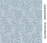 floral seamless pattern with... | Shutterstock . vector #440249392