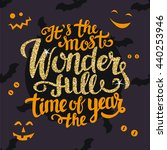 it's the most wonderful time of ... | Shutterstock .eps vector #440253946