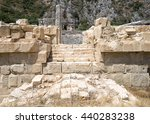 Ancient Rock Cut Tombs In Myra...