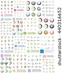 huge logo mega set  abstract... | Shutterstock . vector #440316652
