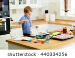 adorable child below the age of ... | Shutterstock . vector #440334256