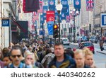 london  uk   october 4  2015 ... | Shutterstock . vector #440340262