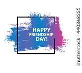 vintage card template... | Shutterstock .eps vector #440368225
