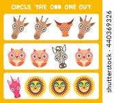 visual logic puzzle circle the...