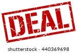 deal stamp.stamp.sign.deal. | Shutterstock .eps vector #440369698