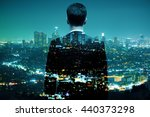 businessman looking at... | Shutterstock . vector #440373298