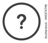 question icon jpg | Shutterstock .eps vector #440374798