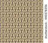 geometric pattern with golden... | Shutterstock . vector #440378356