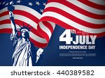 fourth of july independence day | Shutterstock .eps vector #440389582