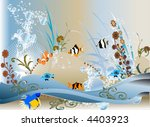 vector  aquarium   Shutterstock .eps vector #4403923