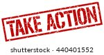 take action stamp.stamp.sign... | Shutterstock .eps vector #440401552
