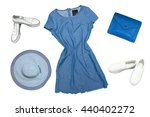 outfits of clothes and woman... | Shutterstock . vector #440402272