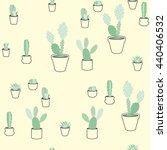 vector seamless pattern ... | Shutterstock .eps vector #440406532