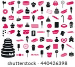 icons on a white background on... | Shutterstock .eps vector #440426398