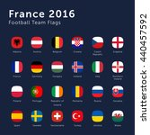 vector flags of france 2016... | Shutterstock .eps vector #440457592
