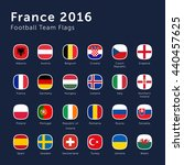 vector flags of france 2016... | Shutterstock .eps vector #440457625