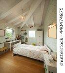 modern house  nobody inside | Shutterstock . vector #440474875