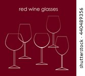 Types Of Glasses For Red Wine...