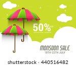 vector illustration sale banner ... | Shutterstock .eps vector #440516482