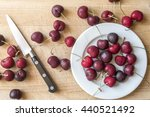 Cherry  Red Cherry Fruit On A...