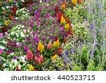Flowers Garden Tile. Flowers...