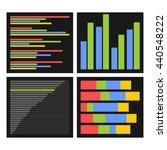 benchmark bars and indicators...